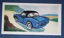 BERKELEY   4-Wheeler Micro-Sports Car    Vintage 1950's  Card