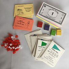 University Of Michigan Michiganopoly Replacement Deeds Token Money Card Monopoly