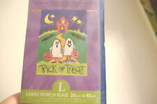 ~New~Trick Or Treat~Halloween Flag~Ghost Costumes~