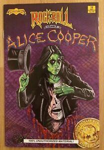 "1990 Rock ""N"" Roll Revolutionary Comics Alice Cooper Comic Book #18"