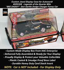 Custom Display Case AW SRS308 BIG DADDY Don Garlits Dodge Charger  SET ONLY Car