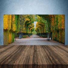 Küchenrückwand aus Glas ESG Spritzschutz 140x70cm Park Herbst Garten Natur