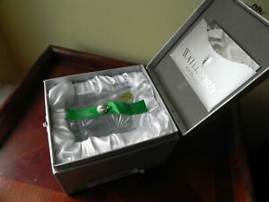 WATERFORD Snowflake Wishes 2012 Courage Prestige Emerald Double Old Fashion New