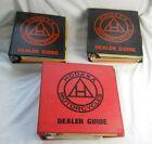 Lot of 3 Dealer Manuals, Hodaka Motorcycles Dealer Guide.   (DS)