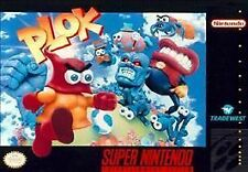 Plok (Super Nintendo Ent. System 1993) SNES Game Only With Free Shipping