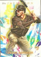 2020 Topps Inception Trent Grisham San Diego Padres Rookie Baseball Card #28