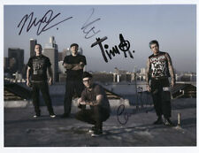 Rancid (Punk Band) Fully Signed Photo Genuine In Person Tim Armstrong Lars