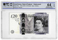 2007 Bank of England Bailey £20 Twenty Pound Replacement Banknote Choice Unc 64