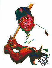 Willie Mays San Francisco Giants Baseball Sports Print Poster Wall Art 8.5x11