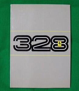 Ferrari 328 GTB/GTS - Very RARE Original Owners Handbook - 1986 Ita/Fr/Eng Text
