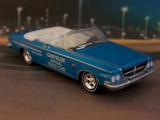 1963 63 CHRYSLER 300 INDY PACE CAR COLLECTIBLE MODEL - 1/64 SCALE DIORAMA