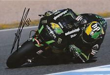 Pol Espargaro mano firmato MONSTER YAMAHA TECH 3 12x8 FOTO 2014 MotoGP 11.