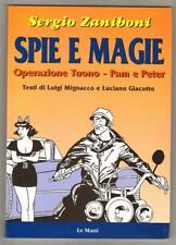 Sergio Zaniboni SPIE E MAGIE Operazione Tuono - Pam e Peter Le Mani 2002