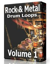 Rock & Metal Drum Loops Wav Samples Pro Tools Fl Studio Ableton Logic Reason