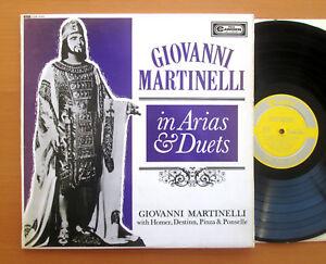 CDN 5105 Giovanni Martinelli in Arias & Duets RCA Camden NEAR MINT