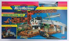 Micro Machines Construction City w/ working crane - MINT IN SEALED BOX !!!