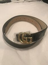 Gucci Style Black Belt 6-10