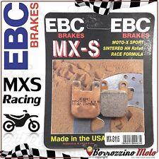 PASTIGLIE FRENO ANTERIORE RACING EBC MX-S 115 RIEJU FIRST- H²O 50 1997