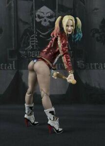 SH Figuarts DC Movie Complete Authentic Suicide Squad Harley Quinn