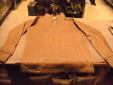 US Military Issue Cold Weather  Undershirt , Polypro, Brown, Size  Small