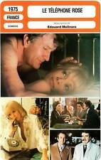 FICHE CINEMA : LE TELEPHONE ROSE - Darc,Mondy,Molinaro 1975 The Pink Telephone