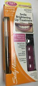 Sally Hansen Smile Brightening Lip Treatment  + Invisible Lip Liner Twinkling