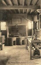 Postcard Belgium Museum Plantin-Moretus La Fonderie des Caractères MINT c1907-15