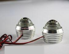 LED Light Strobe Lamp Light Waterproof Flasher, Red Color Car/ Bike