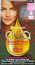 Garnier Olia Darkest Red Rose Ammonia Free Hair Color 3.60 100% Gray Coverage