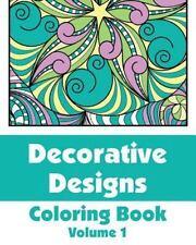 Decorative Designs Coloring Book (2013, Paperback)