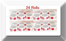 """24 Rolls 2"""" x 110 yds Security Seal Packing Tape IF SEAL IS BROKEN"""