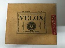 Antique Camera - Velox Developing Paper (5x4) - ca. 1910
