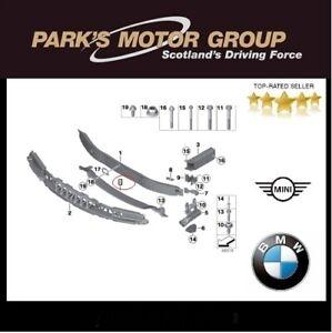 BMW Genuine Front Bottom M Bumper Carrier Bar. 3 Series F30 F31. 5118054188