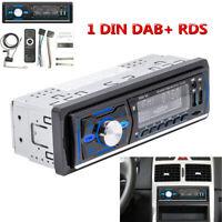 7 Colors 1 DIN Bluetooth Car Stereo Radio Audio MP3 Player USB DAB FM RDS DAB+