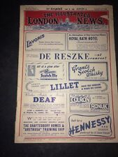The Illustrated London News February 26, 1938 Edition