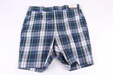Vintage 70S Campus Plaid Golf Shorts Ds Nwt Usa Mens Size 38