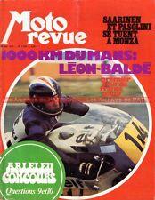 MOTO REVUE 2126 VESPA 125 GP Italie PASOLINI SAARINEN Le Mans Léon Baldé 1973