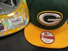 NFL New Era Official Green Bay Packers Sideline 950 9FIFTY Snapback hat cap Snap