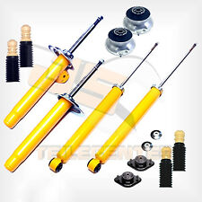 Premium Gas Pressure Shock Absorber Sport Set Dome Bearing Dust Protection BMW