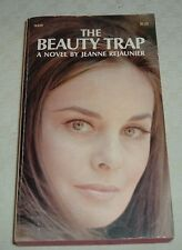 1970 THE BEAUTY TRAP Jeanne Rejaunier Modeling Industry International Bestseller