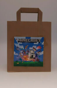 Mine Craft Themed Pre Filled Party Bags Ready Made Goody Loot Bags version 2