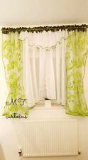 White Voile Net Curtain Ready Made Bedroom Living Room 400x150