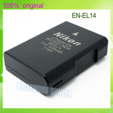 Genuine Original Nikon EN-EL14 Battery For D5100 D3200 P7000 P7100 MH-24 ENEL14A