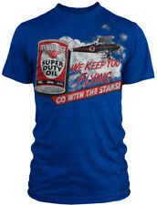 Motor Age Pin Up Street Gothic Americana Tattoo Art Mens Tee GO WITH THE STARS