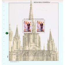 ESPAÑA SPAIN COLECCION BODA INFANTA CRISTINA DE BORBON  E IÑAKI URDANGARIN 1997