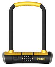 "OnGuard Bulldog 8010C U-lock Combo Bike Urban 9"" x 4.5"" Combination & Bracket"
