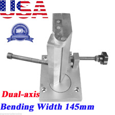 US Dual-axis Metal Channel Letter Angle Bender Bending Tools Bending Width 145mm