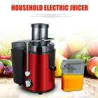 Electric Juicer Wide Mouth Fruit & Vegetable Centrifugal Juice Extractor 2 Speed photo