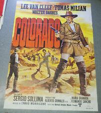 Affiche de cinéma : COLORADO de Sergio SOLLIMA