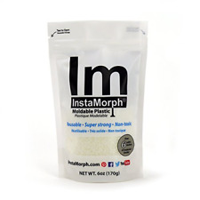InstaMorph Moldable Plastic - 6 oz. Buy more and save FREE SHIPPING